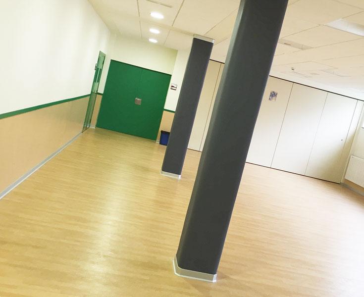 Suelo deportivo gimnasio Vitoria Gasteiz
